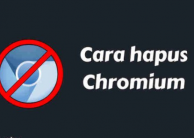 Cara Menghapus Chromium Windows 10