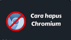 Cara Menghapus Chromium Windows 10