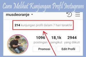 Cara Melihat Jumlah Kunjungan Profil di Instagram