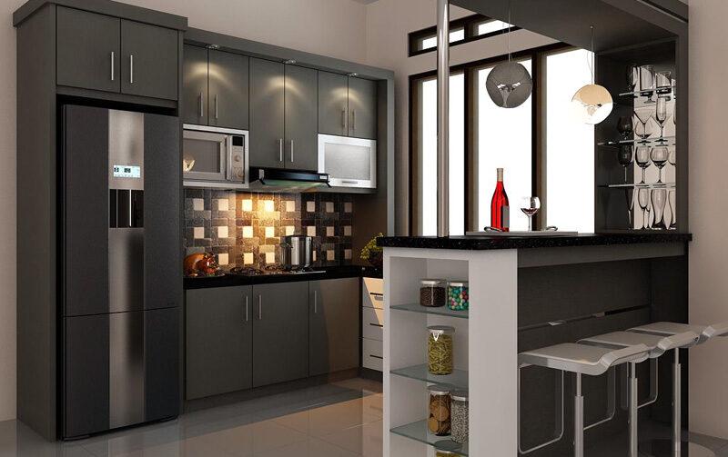 Desain Dapur Kecil Modern